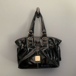 DOONEY & BOURKE black patent leather bag